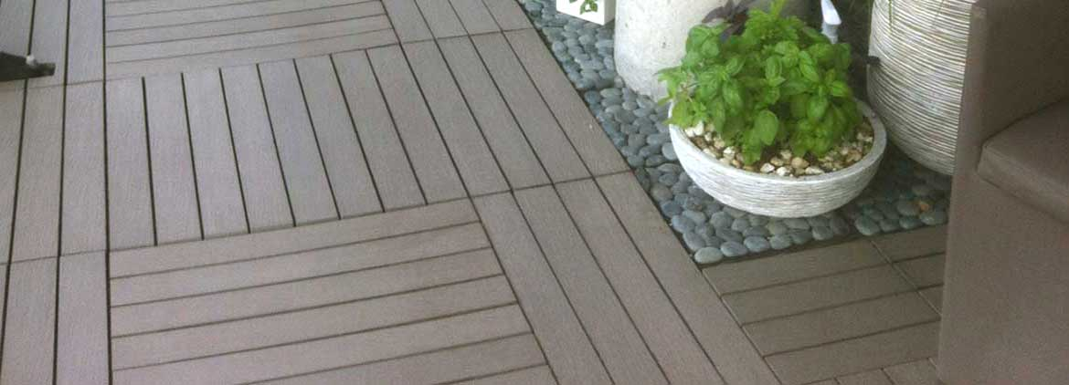 ResiDeck Simulated Wood Decking Tiles